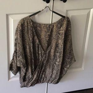Tart silk blouse